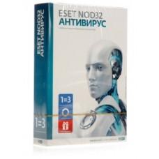 ESET NOD32 Антивирус лиц. на 1 год на 3ПК или на 20 мес, BOX