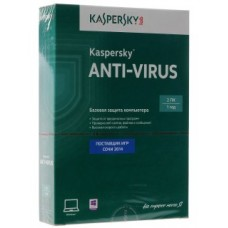Kaspersky Anti-Virus 2014, 2-Desktop 1 year Box