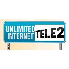 Безлимитный интернет 3G/4G Теле2